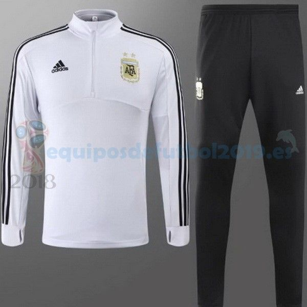 Futbol Originales Chandal Argentina 2018 Blanco  b447dd80452cd