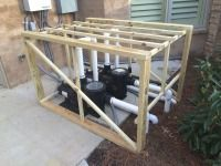 How To Quiet A Loud Pool Pump Pool Pump Sound Proofing Pool Equipment Enclosure