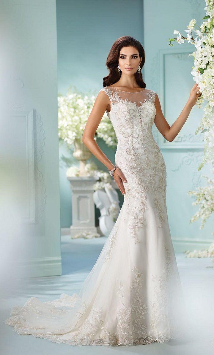 David Tutera Spring 2017 Wedding Dresses - Fairytale Wedding Gowns