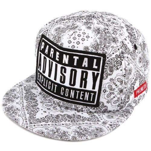 Premier Paisley Snapback ADVISORY Snapback Hats Hip Hop Cap ... 1bf6afb087d7