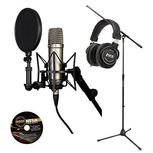 Robot Check Studio Headphones Microphone Rode Microphone