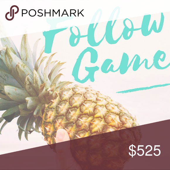Follow Game // FG !! Hello fellow poshers! Let's help each other to expand our networks and get more followers! It's simple. 1. Like this post.  2. Share this post. 3. Follow me and everyone else who likes this post. 4. Check back often to follow more people, and tag your PFFs too!  🍾Halfway there!! Please keep sharing!! 🎉 kate spade Other