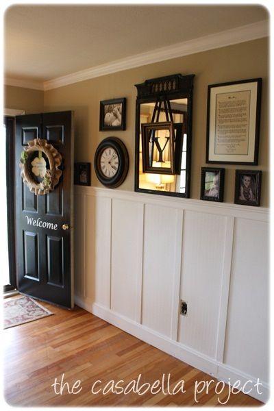 cadre accroch dans miroir avec lettre projet maison pinterest maison interieur maison et. Black Bedroom Furniture Sets. Home Design Ideas