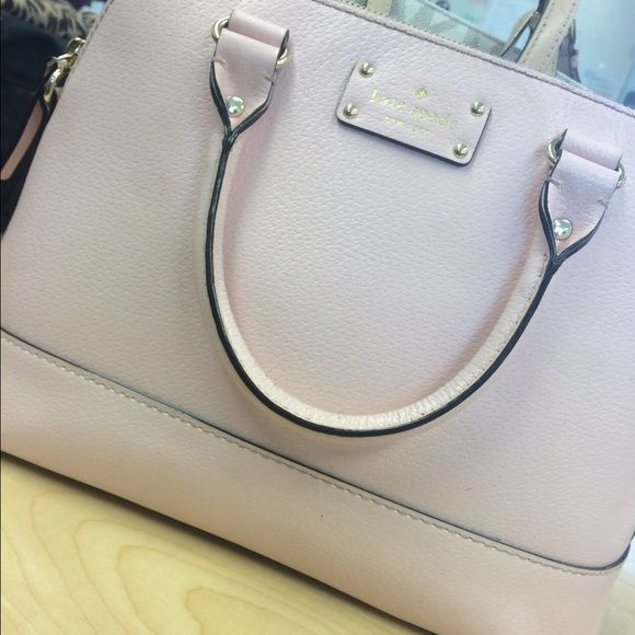 light pink Kate Spade Purse never been used, still has tags! kate spade Bags Totes