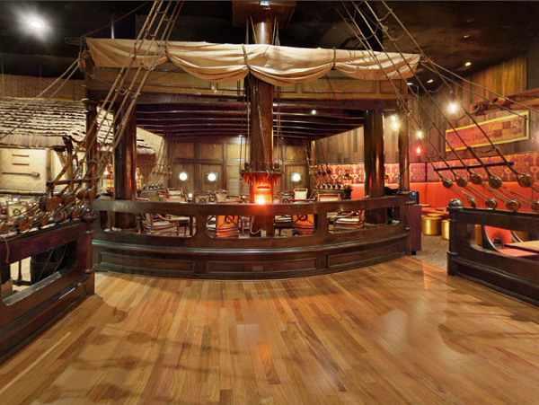 The Tonga Room And Hurricane Bar Design In Fairmont Hotel