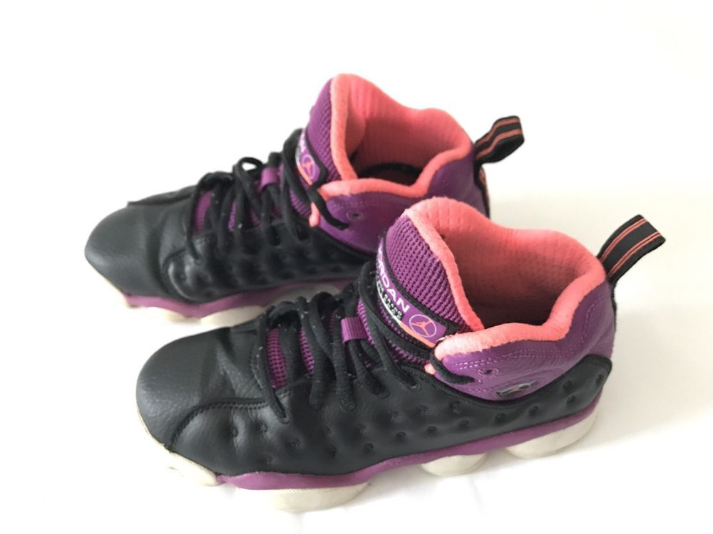 370ee3c3b3a03c ... ember glow b7fa8 73ec7  new arrivals girls nike air jordan jumpman team  ii gs black purple 820276 008 size 4y
