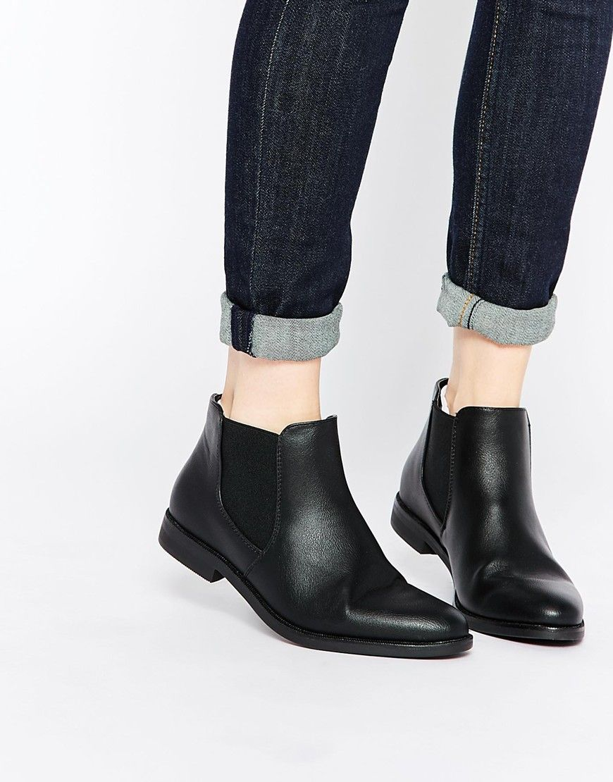 b48674aea4173a Truffle Collection Cece Chelsea Boots Black Chelsea Ankle Boots, Chelsea  Boots, Womens Boots On