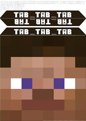 graphic about Minecraft Steve Printable named Simply click below in the direction of just take a Free of charge printable Steve thoughts template