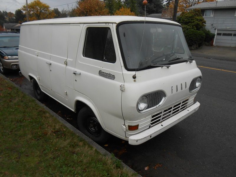 1966 Econoline Van 300 Straight Six No Air Conditioning A Real