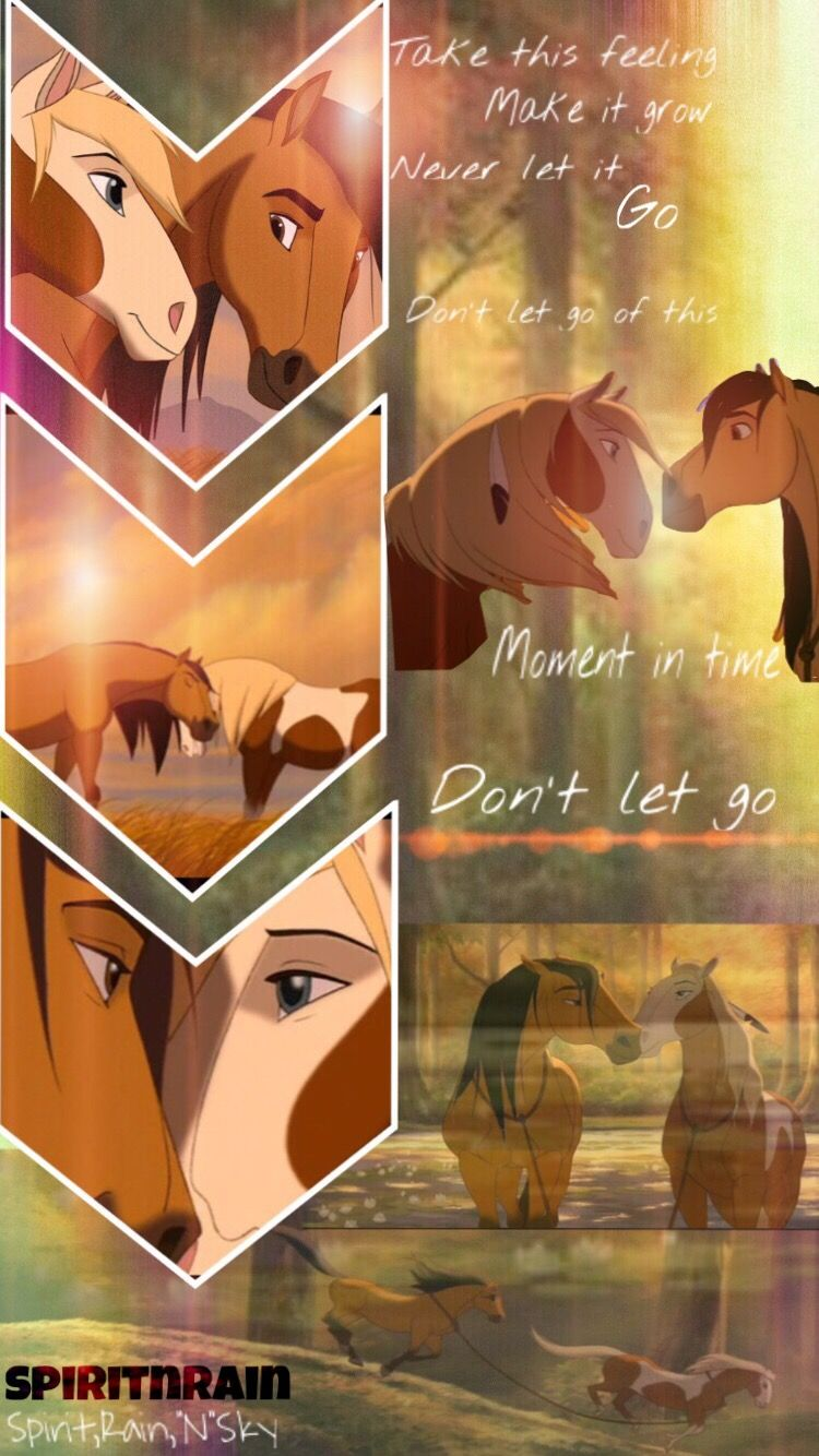 A Spirit Wallpaper I Made I Am Happy For You To Use It Just Give Me Credit And If You Could Leave A C Spirit And Rain Spirit The Horse Disney