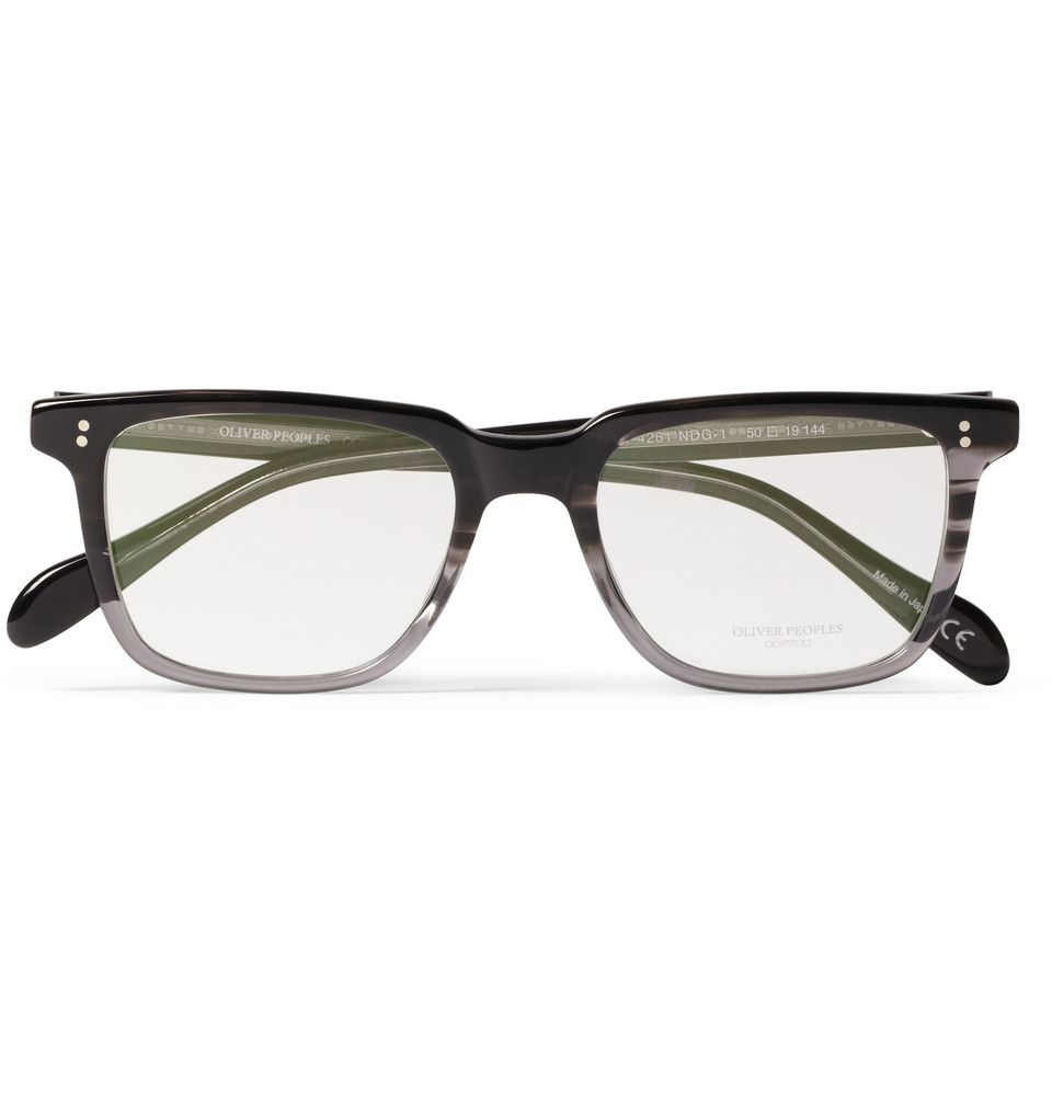 0087793e59c Oliver Peoples NDG Square-Frame Acetate Optical Glasses
