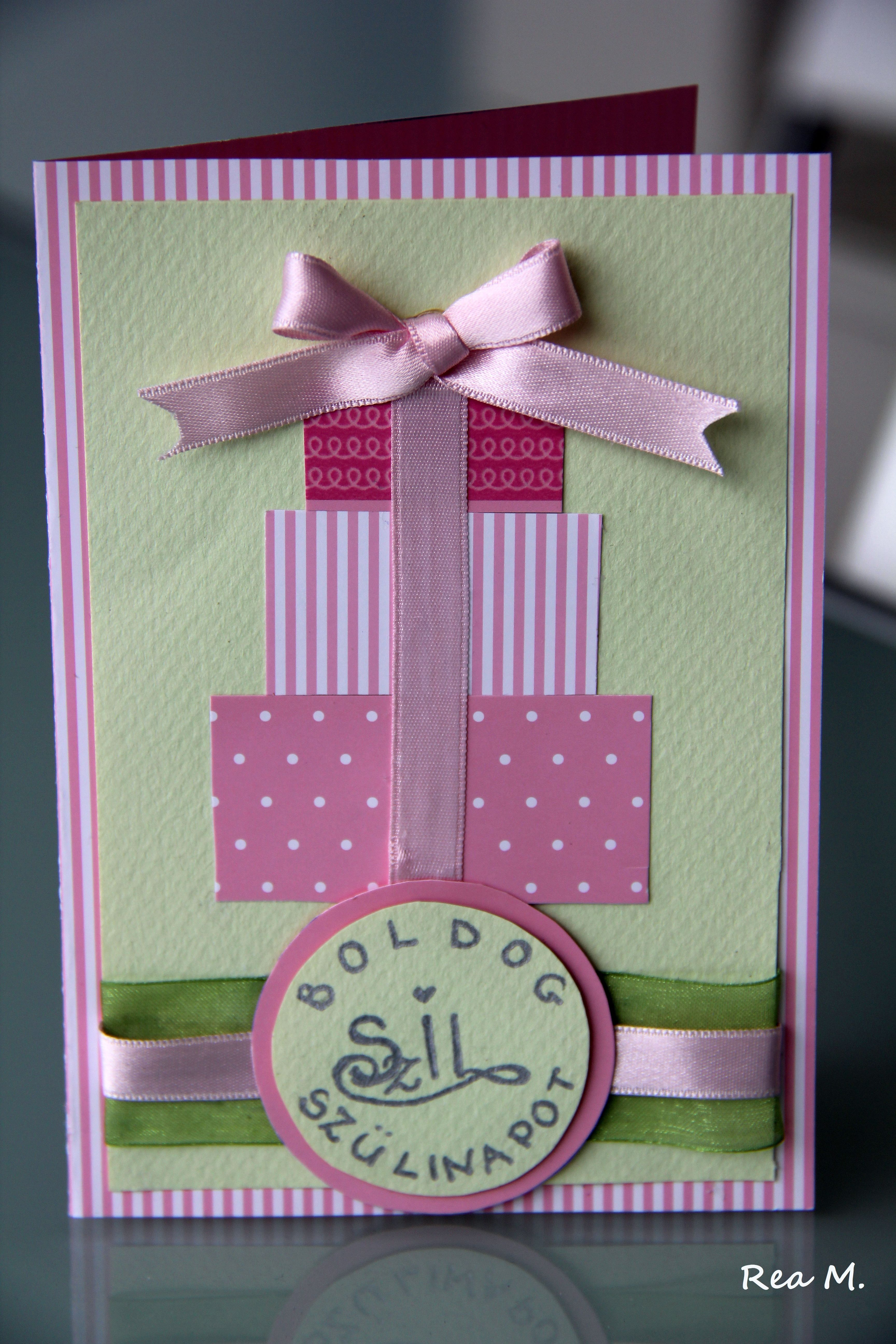 Как сделать поздравительную открытку на день рождение