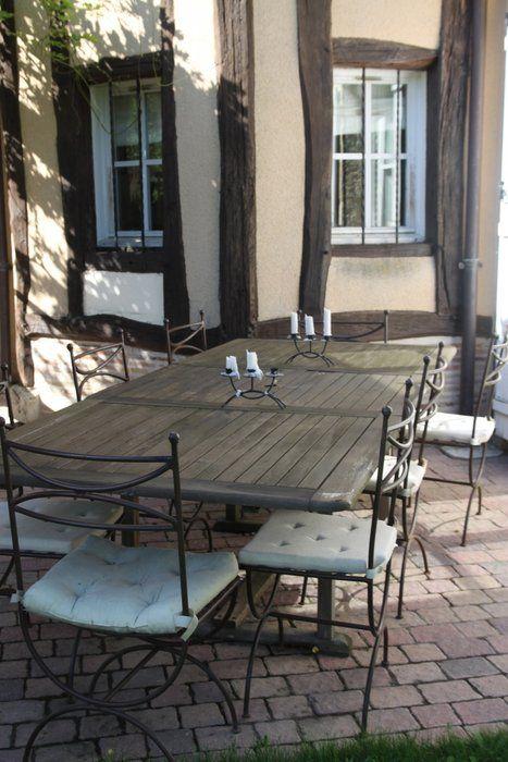 Déco terrasse maison  Terrasse à la campagne       wwwdecofr - Idee Deco Maison De Campagne