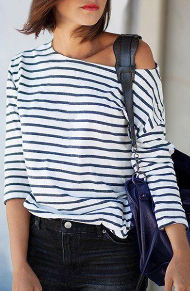 Striped T-Shirt ==