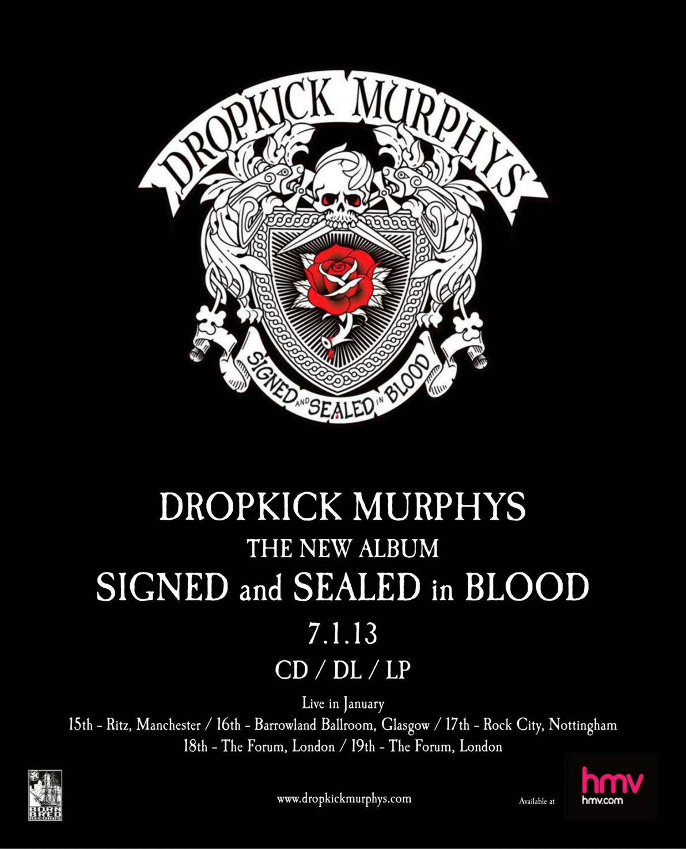 Dropkick Murphys Band Posters Concert Posters Dropkick Murphys