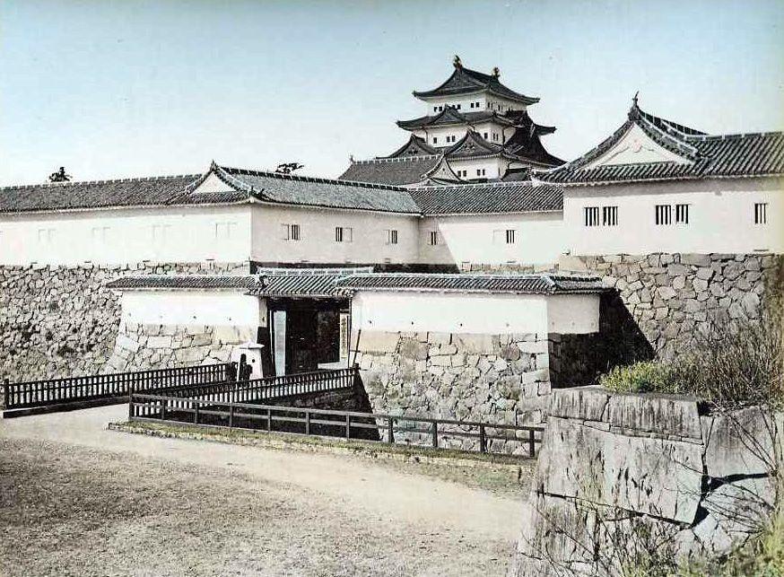 名古屋城 日下部金兵衛撮影