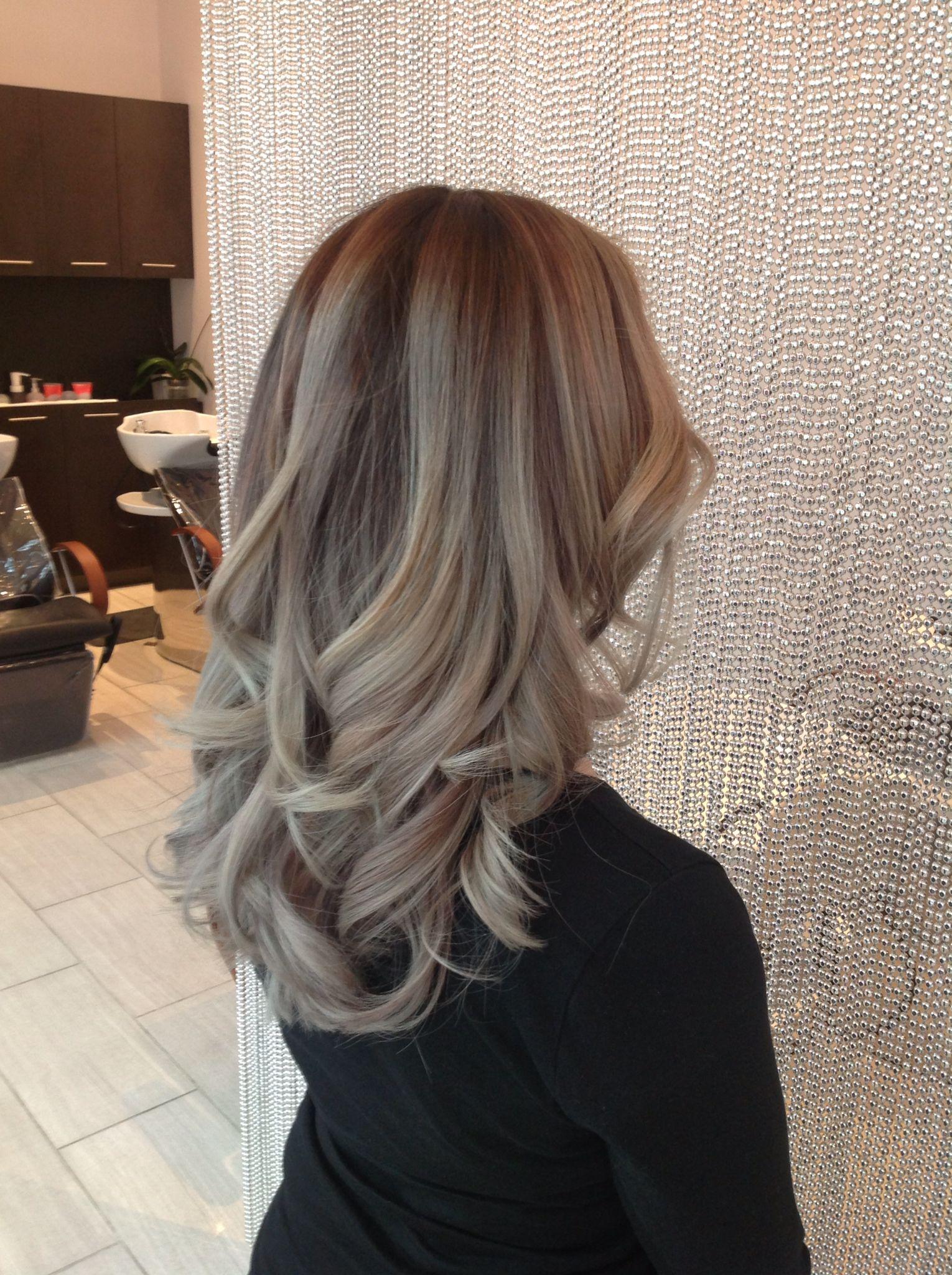 Ash Balayage Color Melt Balayage Hair Color 2015 Ombre Blond