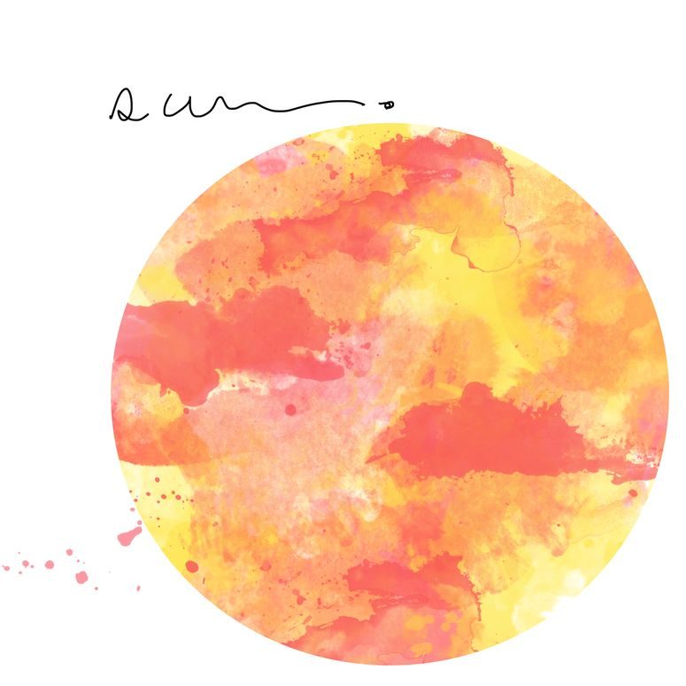 Watercolor Sun Moon And Stars Watercolor Moon Sun Painting