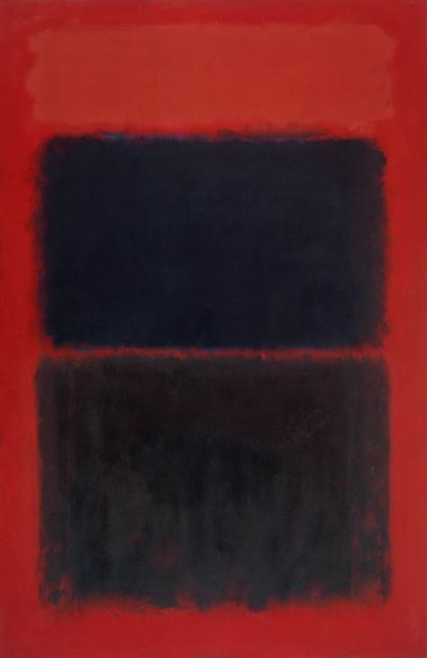 Mark Rothko 'Light Red Over Black', 1957 © Kate Rothko Prizel and Christopher Rothko/DACS 2016