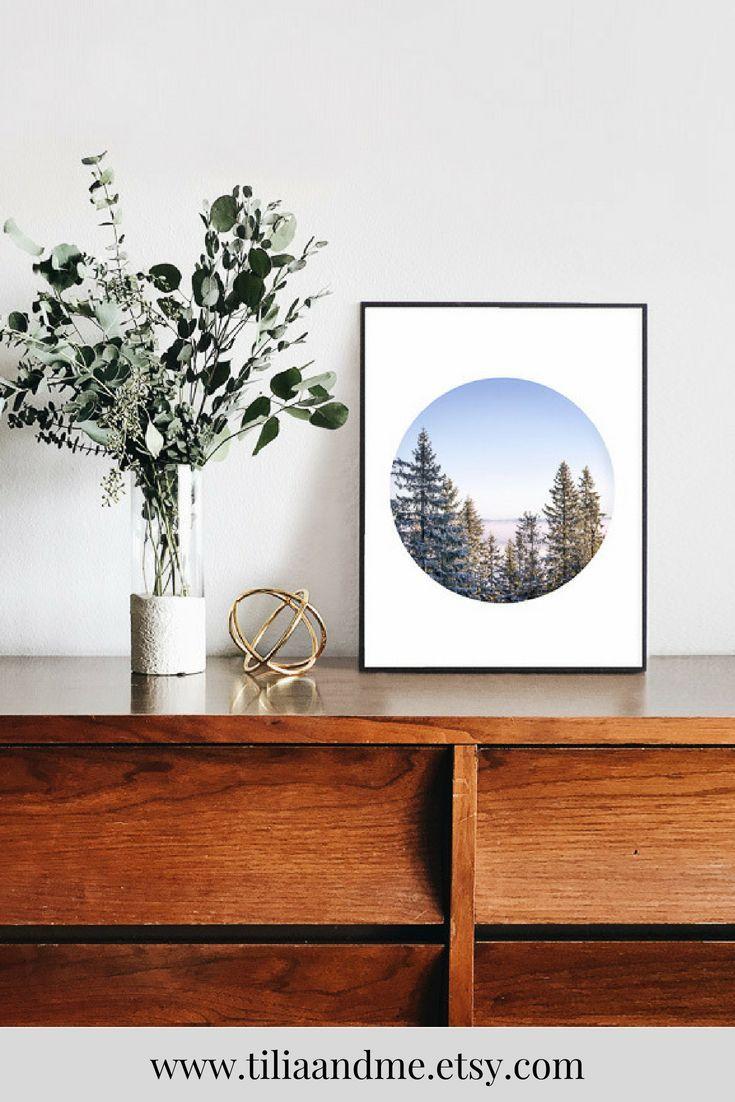 Nordic nature photography prints bedroom wall art fine art