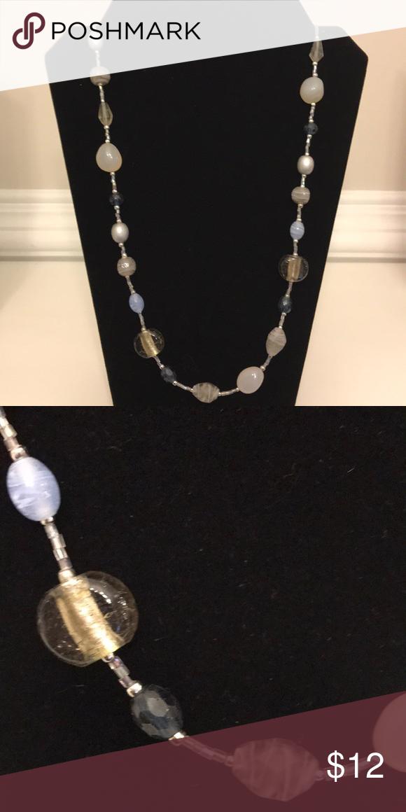 Premier Designs Lakeside retired long necklace