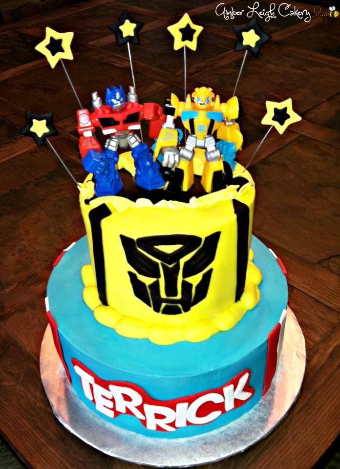 Transformers Birthday Cake Transformer Birthday