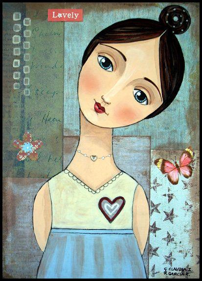Pintura de Claudia Garcia R. 01