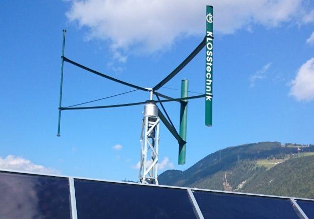 Bekannt Windrad Darrieus Rotor Eigenentwicklung | Windrad Garten BC22
