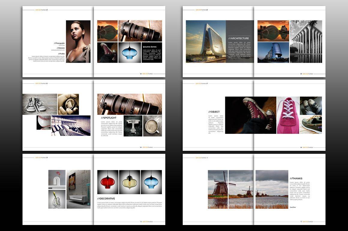 Indesign Brochure Template by izzatunnisa on Creative Market ...