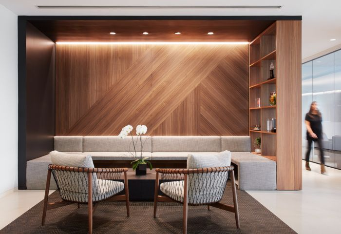 Office tour levy family partners offices chicago h o - Commercial interior design chicago ...