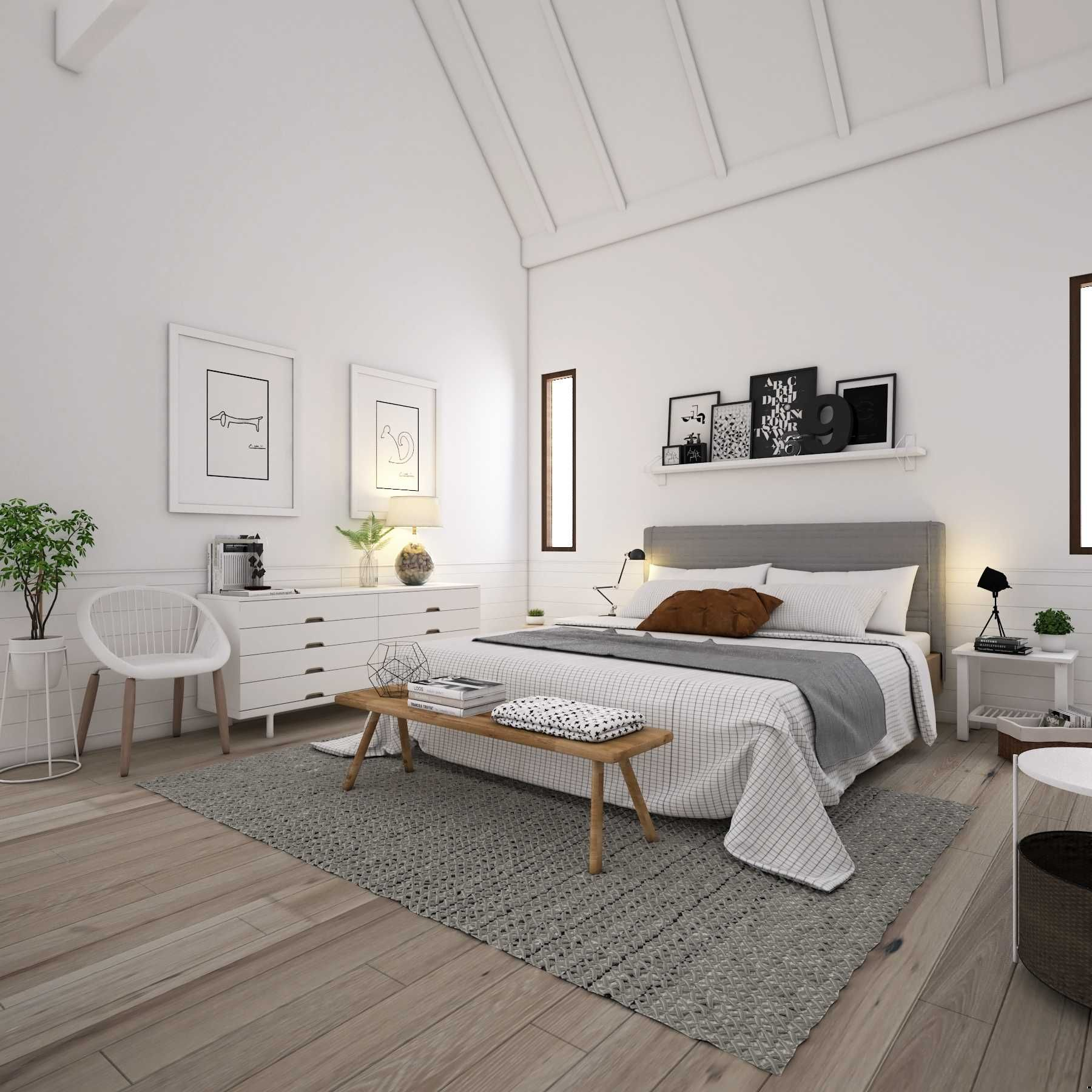 Scandinavia Bedroom Scandinavian House Medan Sumatra Utara La Casa Interior Wood Bedroom Design Master Bedrooms Decor Modern Bedroom Interior