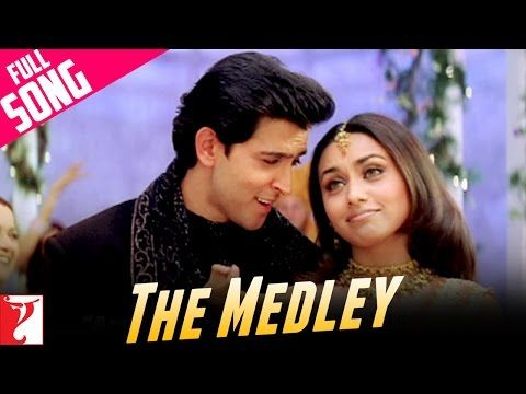 Medley Song Mujhse Dosti Karoge Bollywood Movie Songs Songs Bollywood Music Videos