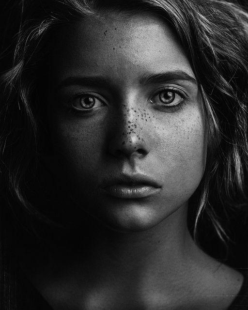 Abigail by Brian Ingram, via Behance
