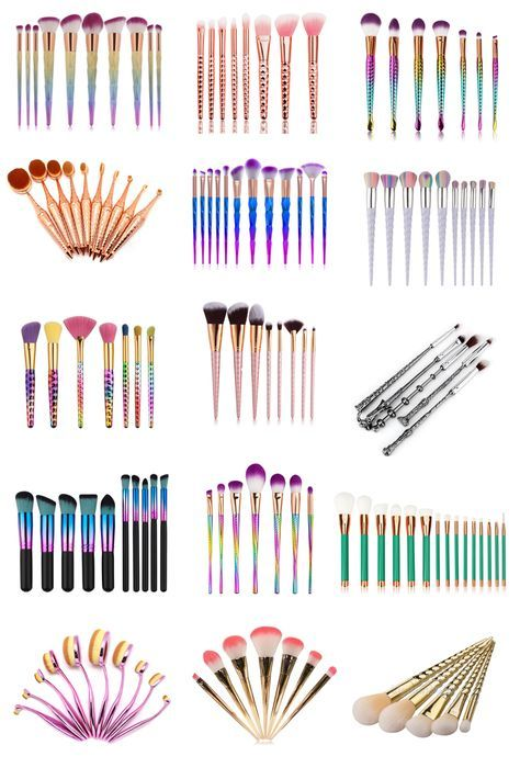 15 gorgeous makeup brush sets that are under 10 beauty gorgeous makeup affordable makeup