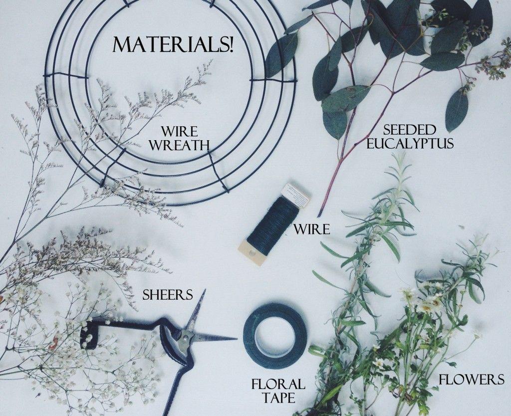 Eucalyptus Wreath Eucalyptus wreath Wreaths and Simple diy