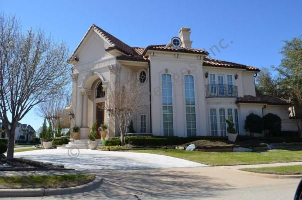 Villa Visola - Luxurious Mediterranean Mansion House Plan Villa Visola Exterior
