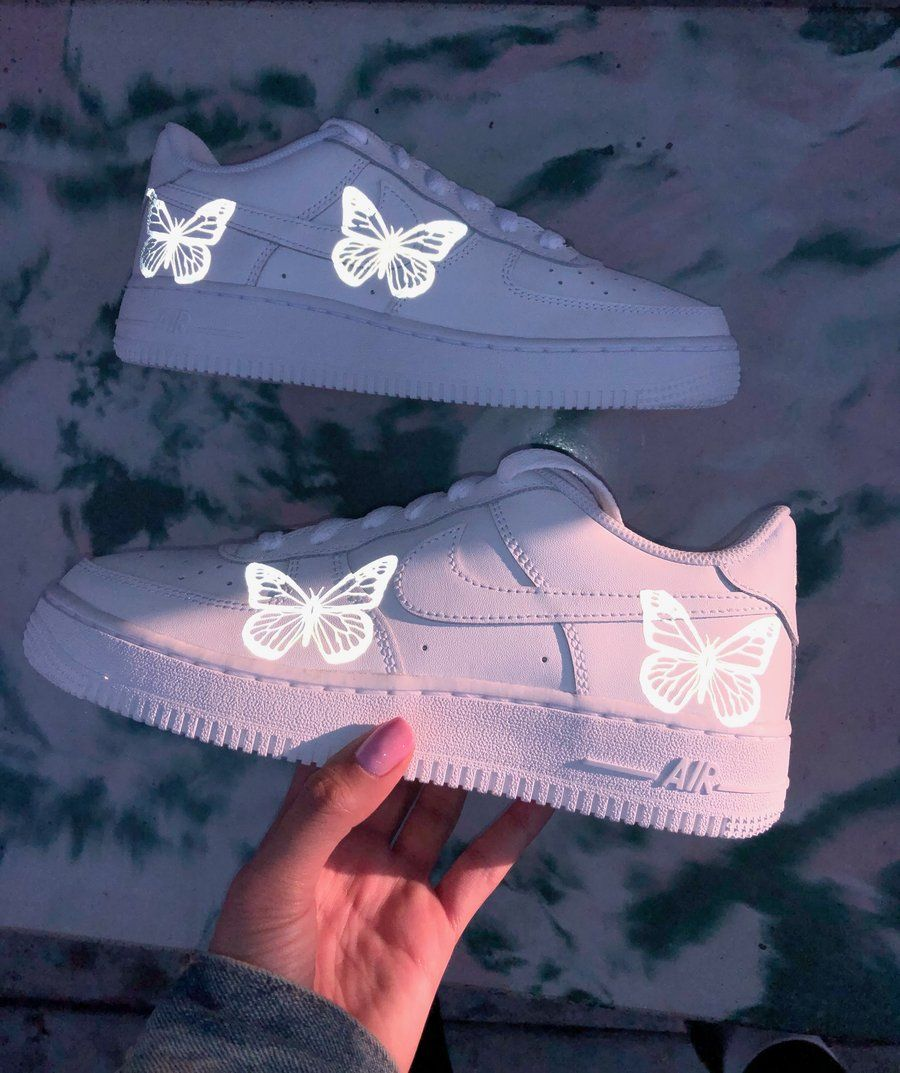 3M Limited HD Reflective Butterfly Air Force 1 (With