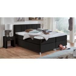 Photo of Reduced box spring beds –  Box spring bed Ramea, 120×200 cm, black MaintalMaint…
