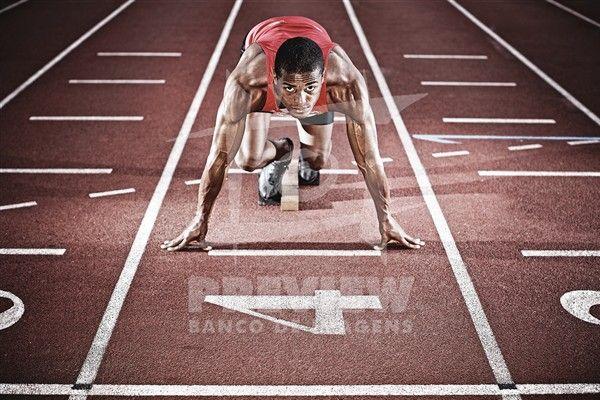 Anderson Freitas Henriques, jovem promessa do esporte brasileiro no atletismo para as próximas olimpíadas.