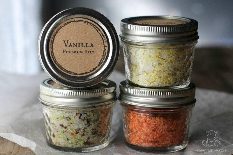 4 Flavored Salt Recipes