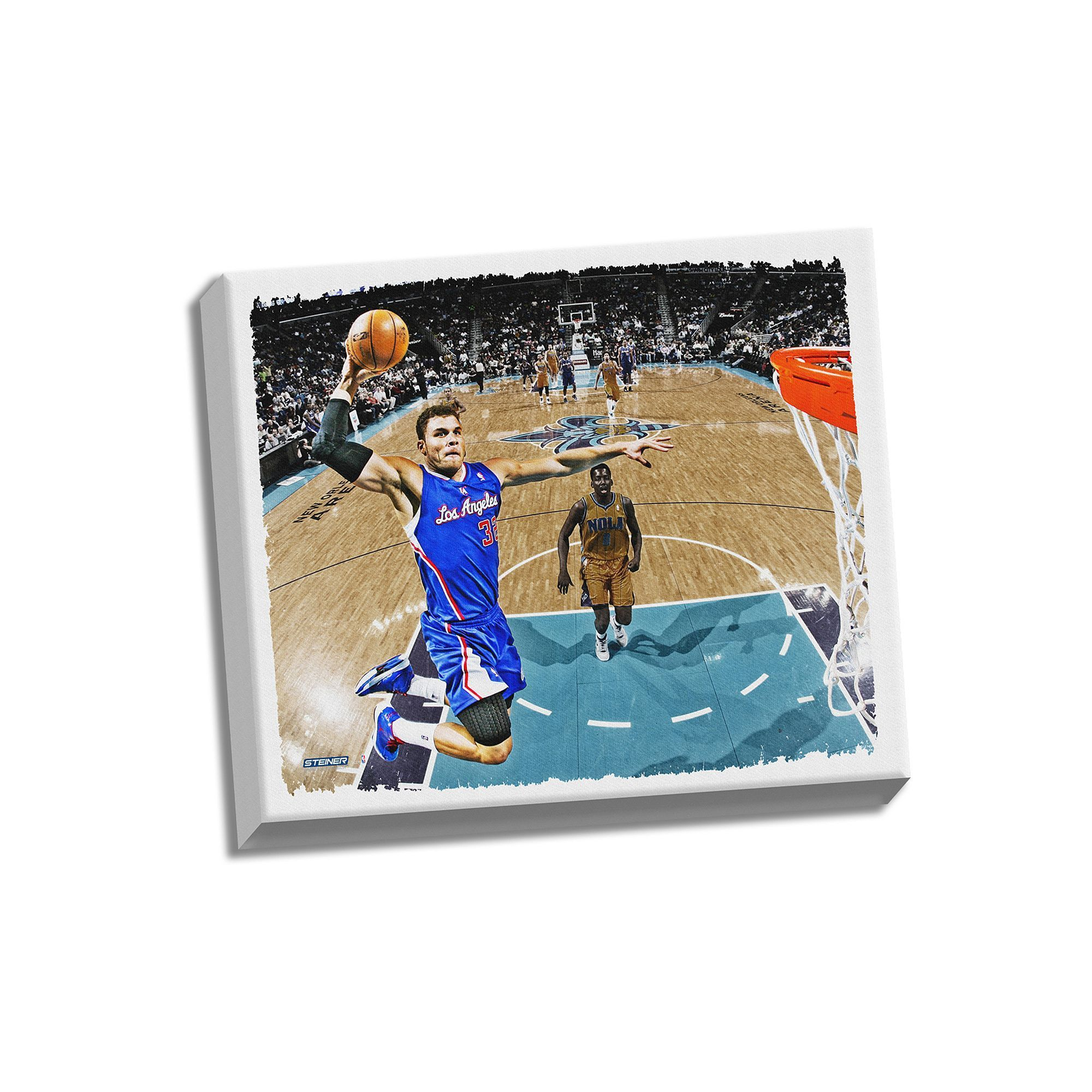 b596a8353 Steiner Sports Los Angeles Clippers Blake Griffin Dunk 22