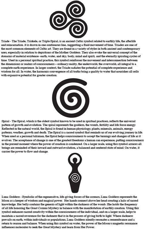 Spiral Tattoo Meaning : spiral, tattoo, meaning, Wicca, Symbols., Celtic, Symbols,, Symbols, Meanings,, Wiccan