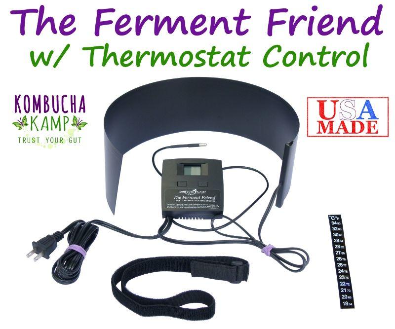 The Kombucha Mamma Ferment Friend Heater With Thermostat Kombucha Fermentation Heating Systems