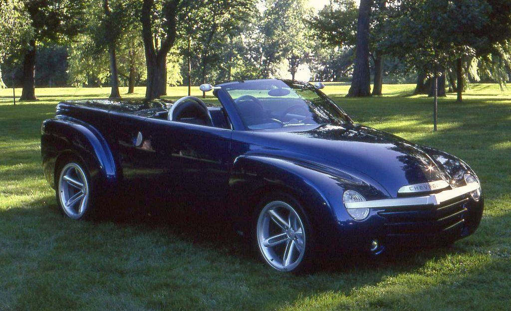 2001 Chevrolet Ssr Roadster Pickup Prototype Chevrolet Ssr