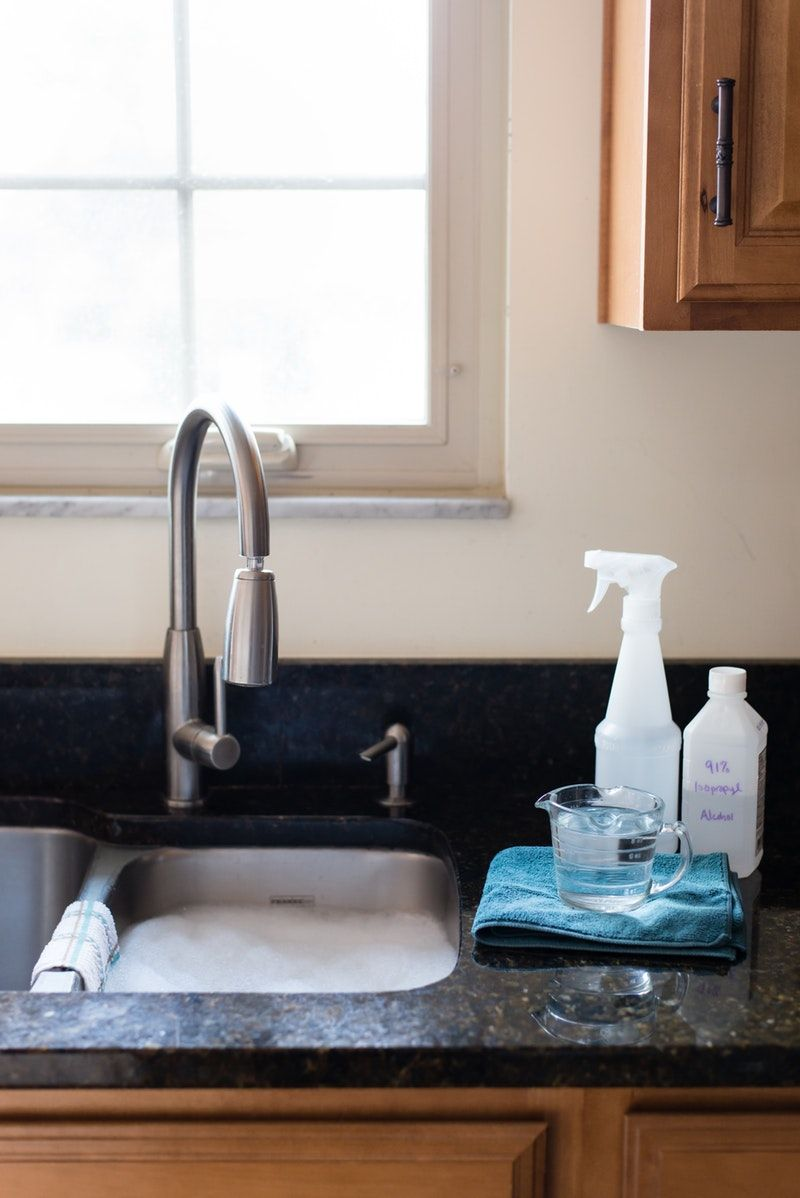 How to clean and disinfect granite countertops how to