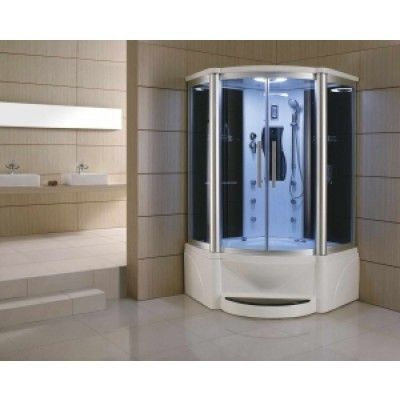 48 inch Steam Shower Whirlpool Bathtub Combo WS-609P - Cheetah