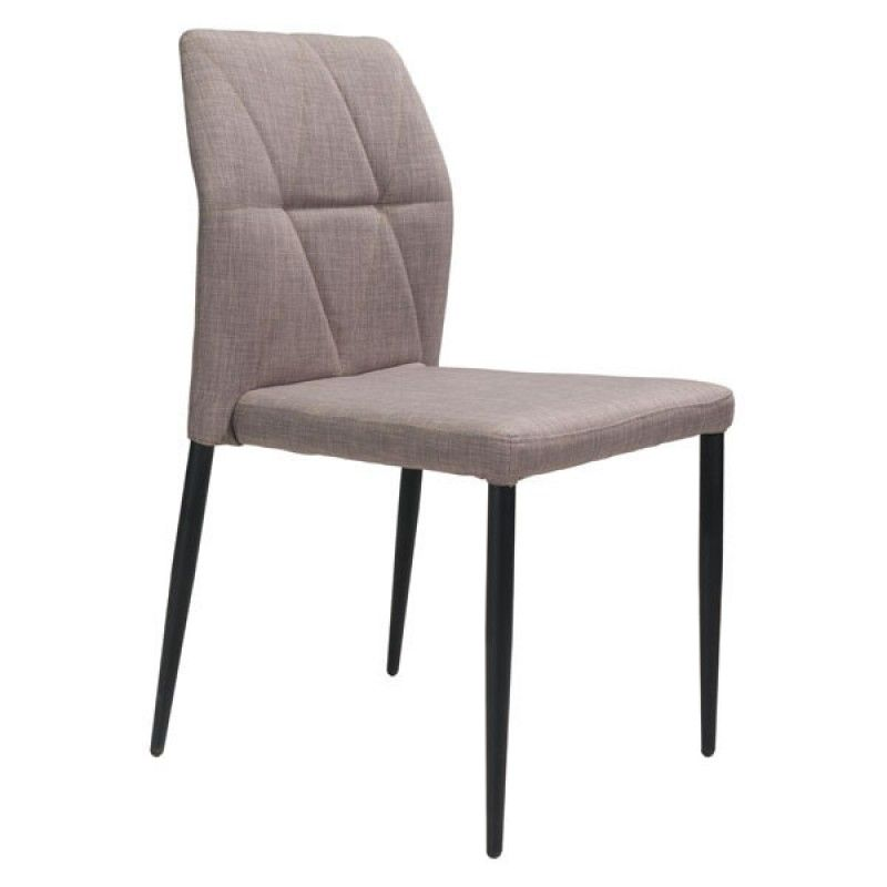 Our Slim Modern Dining Chair With Geometric Stitching Will Make A