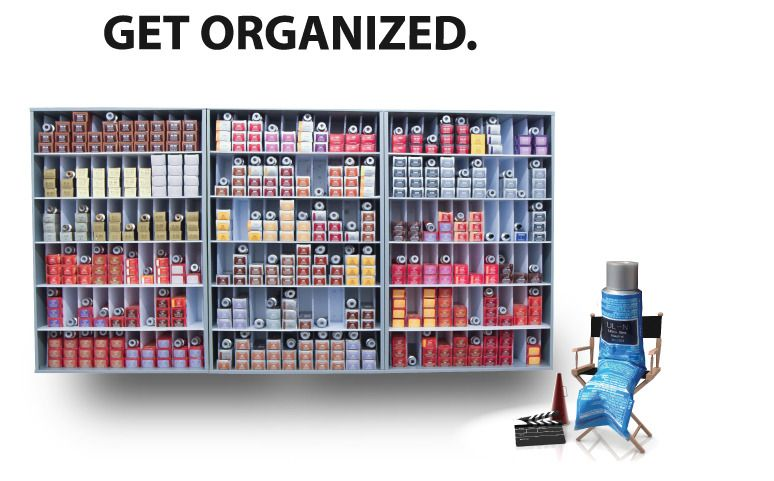 Color Tube Storage Google Search Salon Pinterest