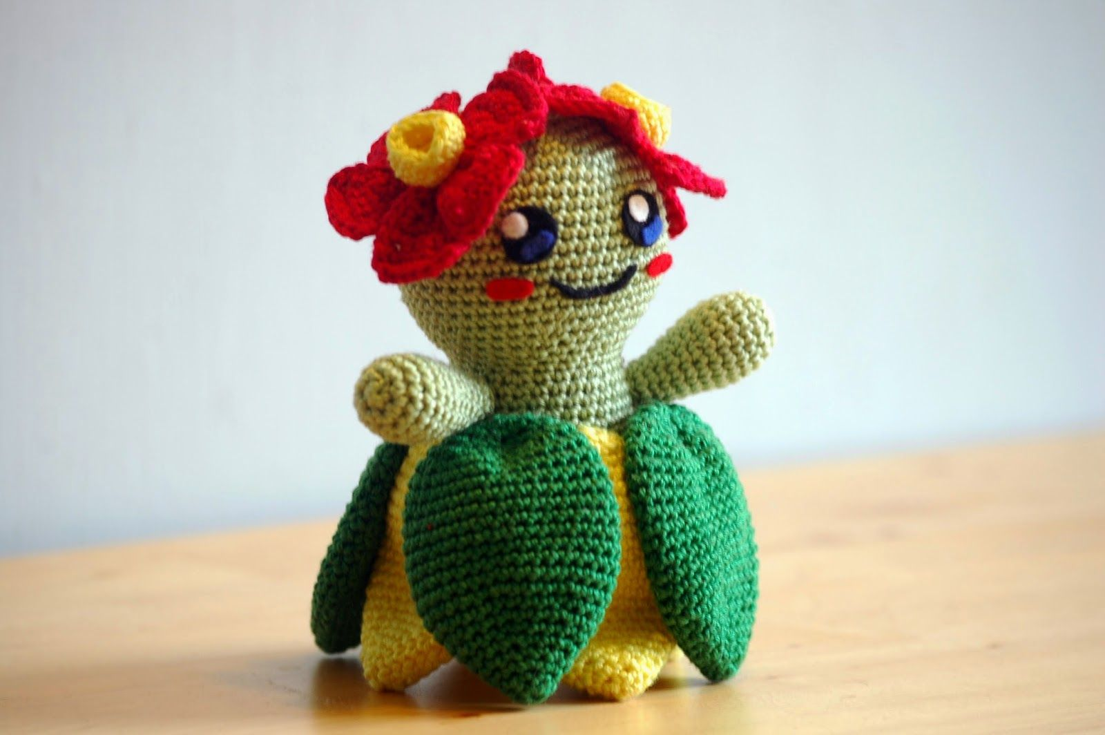 Amigurumi Pokemon Patterns Free : Sabrina s crochet free crochet pattern bellossom pokemon