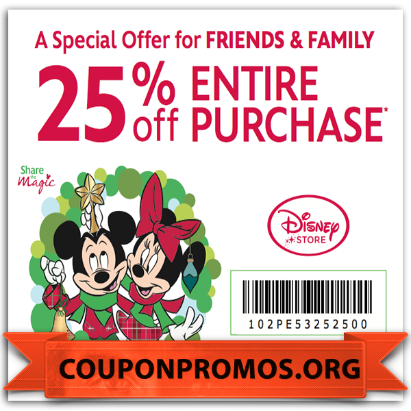 image about Disney Store Coupons Printable identified as totally free printable disney shop lower price discount coupons for August